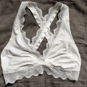 Aerie Cross Back Bralette